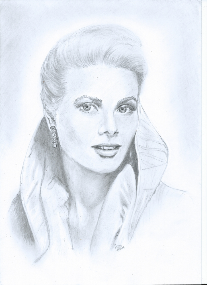 Grace Kelly by daniay
